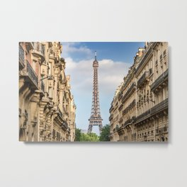 Parisian Flair Metal Print