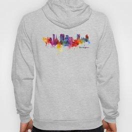 Birmingham Watercolor Skyline Hoody