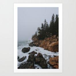 Bass Harbor, Maine Art Print