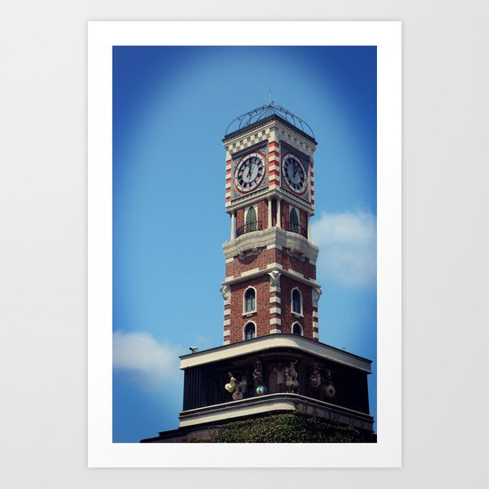 CLOCKTOWER Art Print