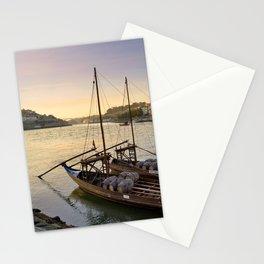 Oporto sunset,  Portugal Stationery Cards