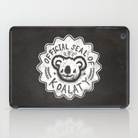 koala iPad Cases featuring Koala by Ronan Lynam