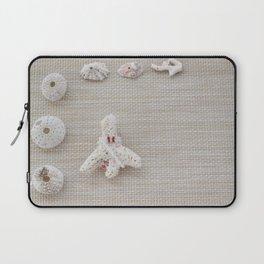 Seashells and urchins design Laptop Sleeve