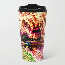 Summer Fishing Invert Travel Mug