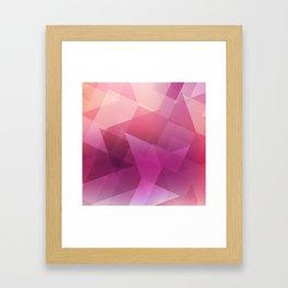 Pattern Color Combinations Framed Art Print