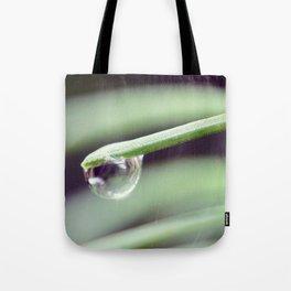 Water Droplet Tote Bag