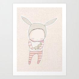 01 cud Art Print
