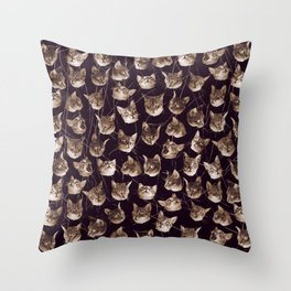 Oh my Cat! Throw Pillow