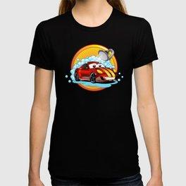 Funny cartoon Car wash  T-shirt