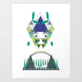 Landscape 03 Art Print
