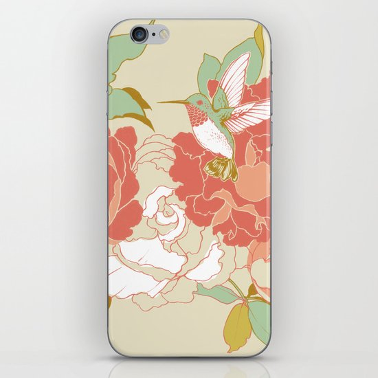 garden party iPhone & iPod Skin