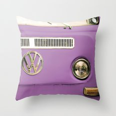 Summer of Love - Radiant Orchid Throw Pillow