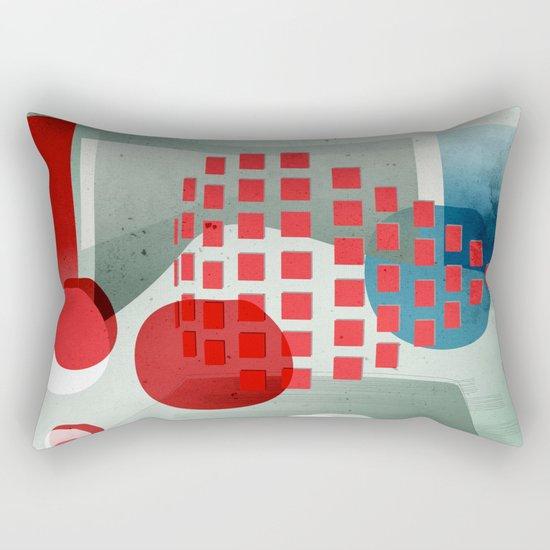 when in doubt wear red Rectangular Pillow
