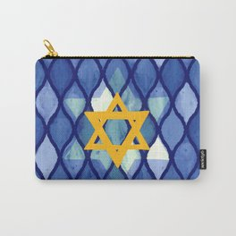 Jewish Celebration Carry-All Pouch