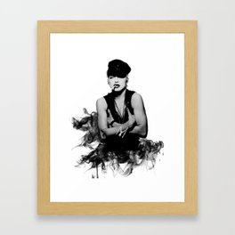 Madonna - Justify My Smoking' Love Framed Art Print