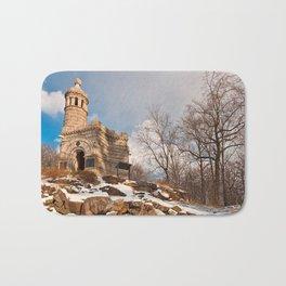 Winter Gettysburg Castle Bath Mat