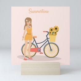 Summertime Mini Art Print