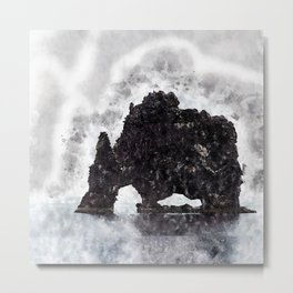 The silent mountain Metal Print