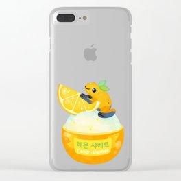 Golden poison lemon sherbet 2 Clear iPhone Case