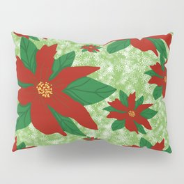 The Christmas Flower Pillow Sham
