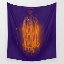 Purple Light Wall Tapestry