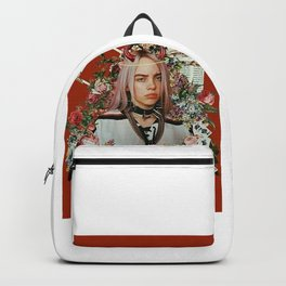 Billie Eilish Graphic Artwork Backpack