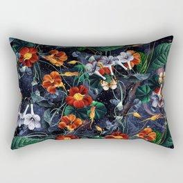 Nasturtium Night Rectangular Pillow