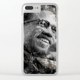 MALCOLM Clear iPhone Case