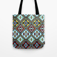 NATIVE AMERICAN PRINT Tote Bag