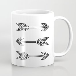 Triple Arrows Coffee Mug
