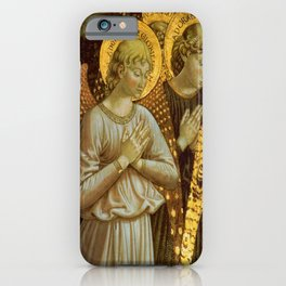 1459 Benozzo Gozoli - Angels (detail) iPhone Case
