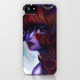 Smile of the Succubus iPhone Case