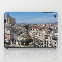 madrid iPad Cases featuring Madrid Espana by Eduardo Doreni