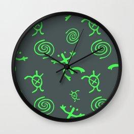 Taino Coqui Glow Wall Clock