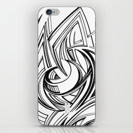 Clarity #5 - Fold iPhone Skin