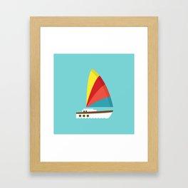 Sailboat II Framed Art Print
