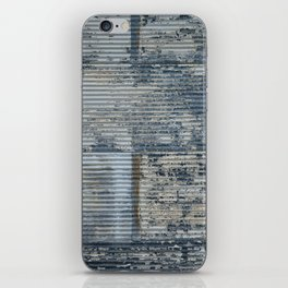 Warehouse District -- Vintage Industrial Farm Chic Abstract iPhone Skin