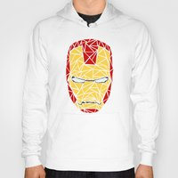 iron man Hoodies featuring Iron Man by aesthetically