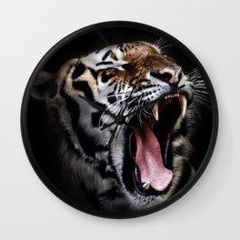 Save animal save Tiger Wall Clock