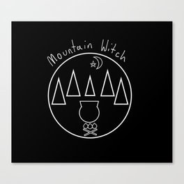 Mountain Witch Canvas Print
