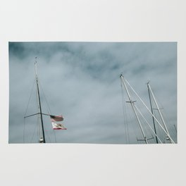 Mast and Flags Rug