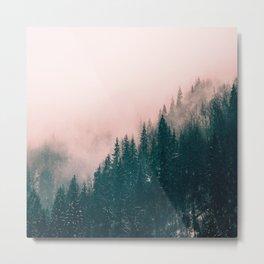 Pink Haze Metal Print