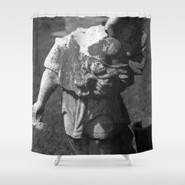 Gothic Angel Shower Curtain