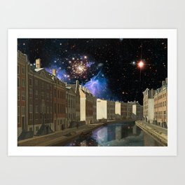 Space Time Continuum with Gerrit Adrieansz Art Print