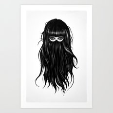 It Girl Art Print