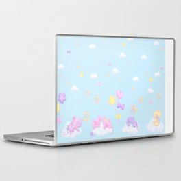 Bubbly Mice Sky Laptop & iPad Skin