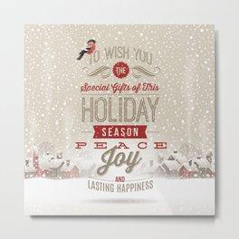 Christmas Wishes Metal Print