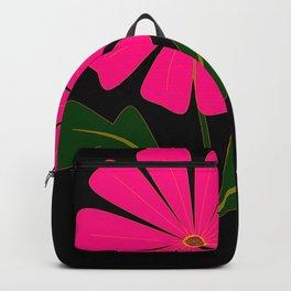 Big Pink Flower Backpack