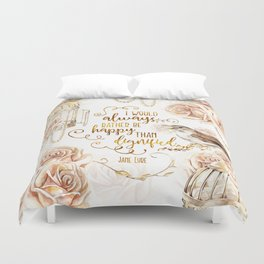 Jane Eyre - Dignified Duvet Cover