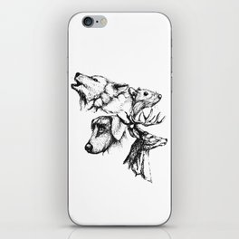 Moony Wormtail Padfoot Prongs iPhone Skin
